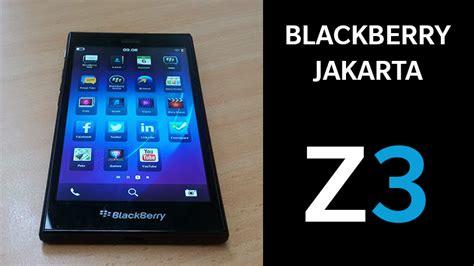 Hp Bb Jakarta Edition Blackberry Officially Unveils Blackberry 174 Z3 Jakarta Edition
