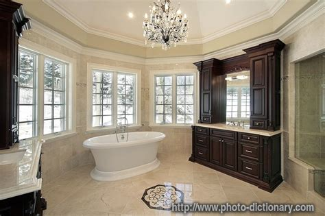 Vanity Dict by Master Bath Photo Picture Definition At Photo Dictionary