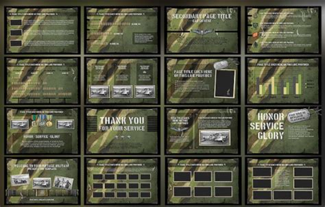 Free Army Powerpoint Template