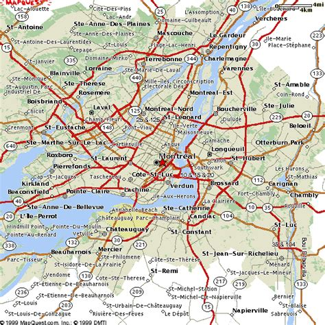 montreal canada map listings canada