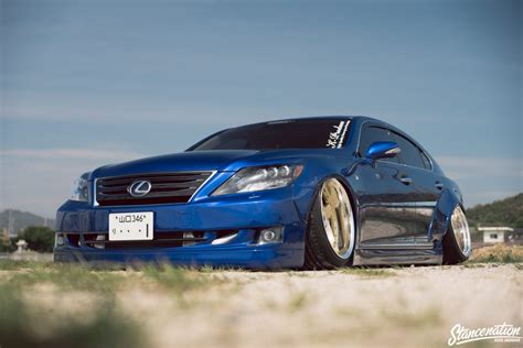 slammed lexus ls460 slammed lexus ls460 is quite the looker clublexus