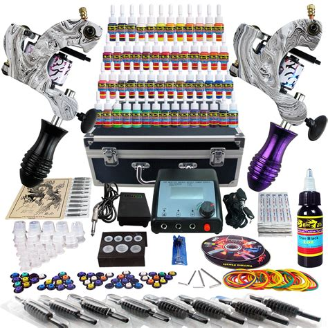 tattoo equipment wholesale solong taty complete kit 2 machine