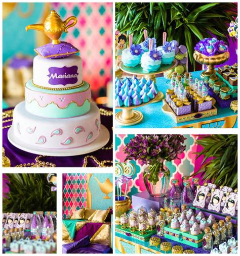 jasmine themed birthday party kara s party ideas princess jasmine birthday party kara