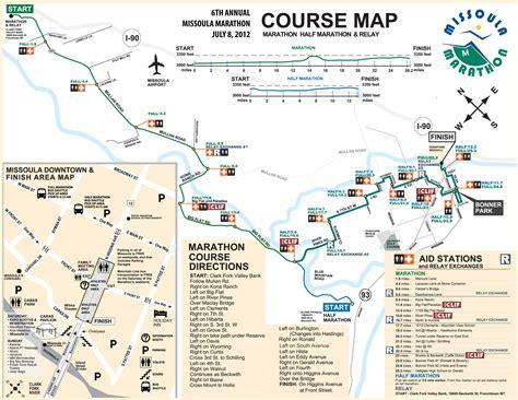 boston marathon route map missoula marathon 2014 2015 date registration course