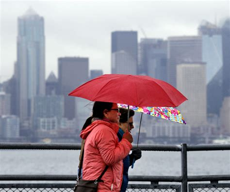 City Of Seattle Records Seattle Record Soaks City For Second Year