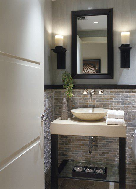 powder room tile ideas 25 modern powder room design ideas