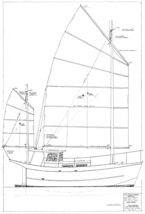 design home rigged harry 26 sailing barge small boat designs by tad roberts