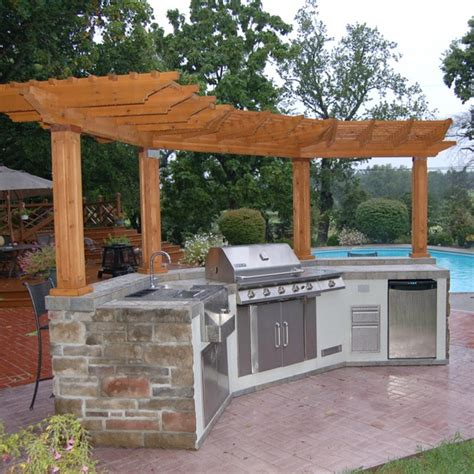 Nobody Into The Pool At Bartles Poolside Bbq by Bbq And Pergola Bbq Pergolas Backyard And