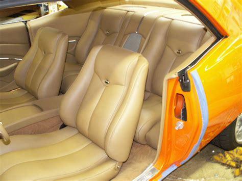 Leather Upholstery Kits Scott Whidby S 1969 Camaro Custom Leather Interior