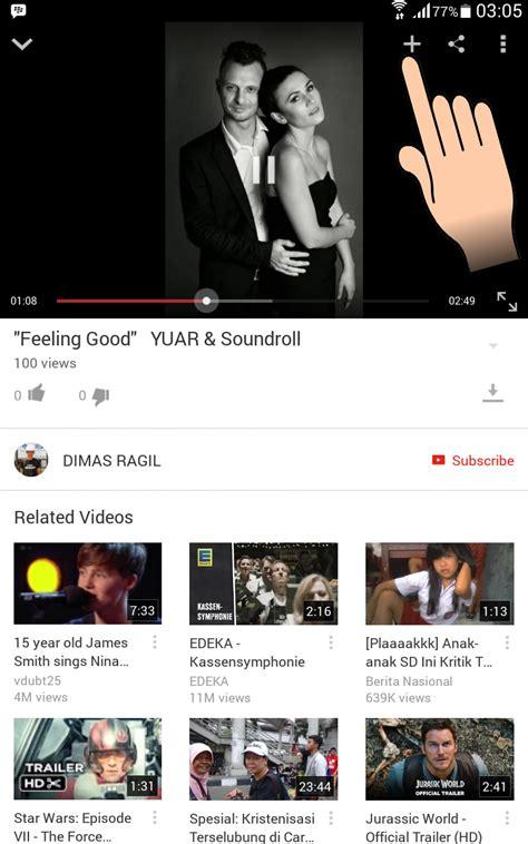 download mp3 di youtube lewat android cara memainkan video di youtube secara offline lewat