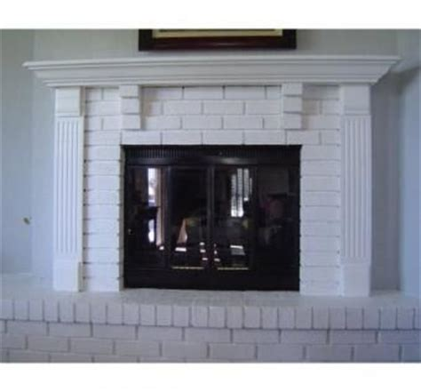 How To Spruce Up A Brick Fireplace by 1000 Images About Fireplace Mantle On Mantels