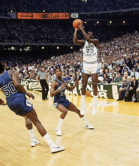 Georgetown Mba Vs Unc Mba by Mj Mondays 1982 Ncaa National Chionship Vs