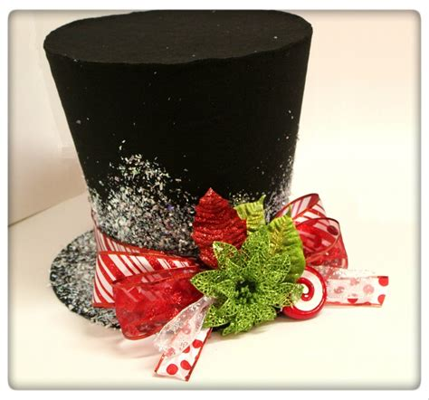christmas hat themes free gift with 12 inch candy cane top hat christmas tree