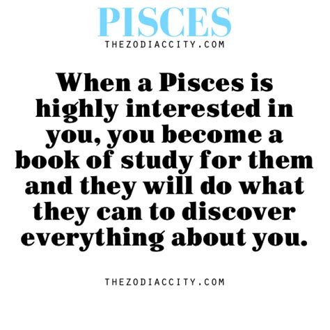 zodiac pisces facts when a pisces is highly interested in
