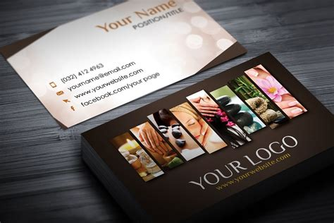 Spa Business Card Template by Spa Business Card Template Modern Graphic Design