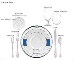 Lunch Table Setting Table Setting Guides At Our Rental Store In San Jose Ca Equipment Guides At Our