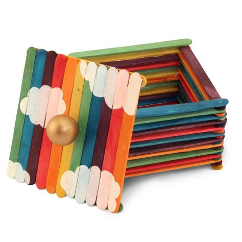 colored popsicle sticks hygloss products colored craft sticks bright