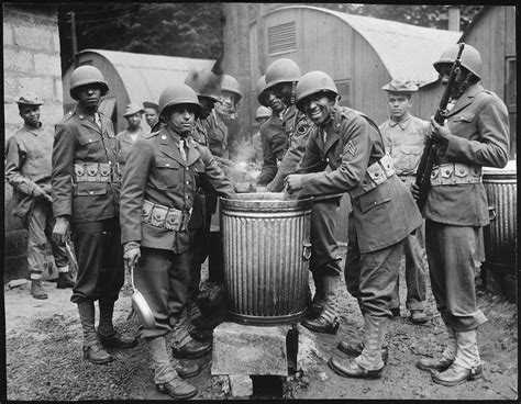house negro file quot negro soldiers draw rations at the c cook house at their station in northern