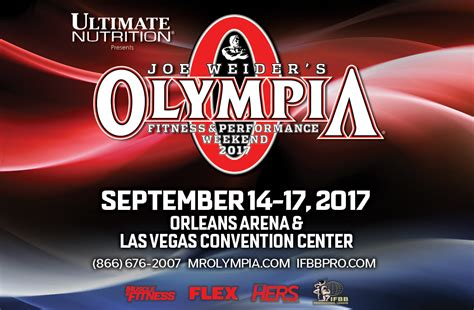 Mr Sweepstakes - win a vip trip to the olympia weekend on muscle fitness mr olympia sweepstakes