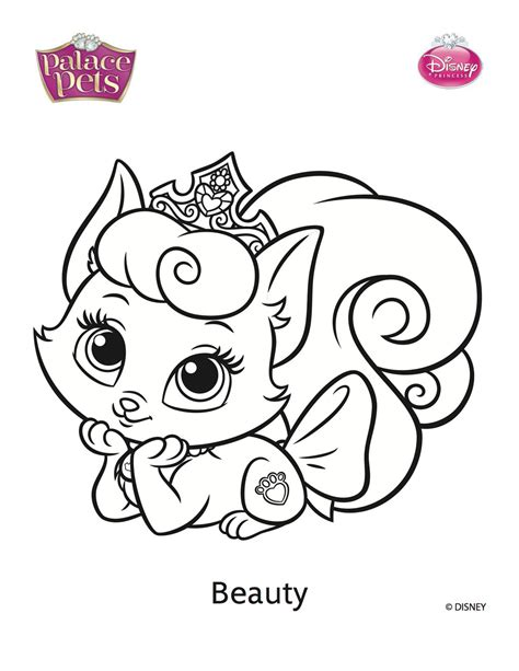 Beauty Palace Pets Coloring Pages Printable Coloring Pages Princess Palace Coloring Pages Printable