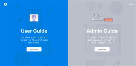 dropbox user guide dropbox guide awwwards sotd