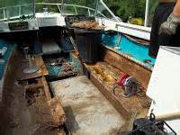boat fuel tank repair putty fix your old boat how to repair rotten deck in fiberglass
