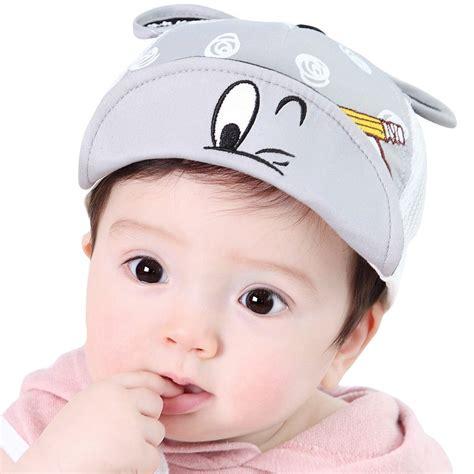 newborn baby boys cotton baseball cap summer