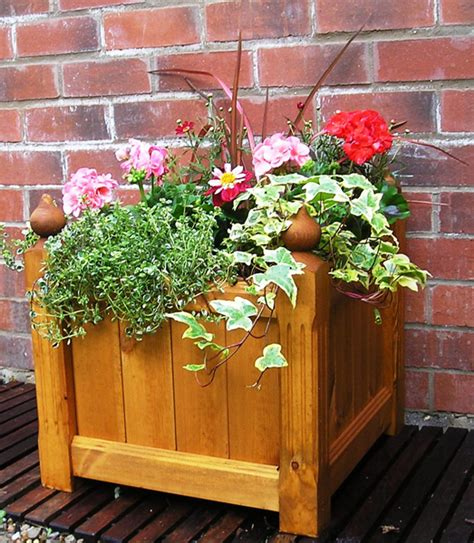 Fence Planters Uk by Uk Garden Fencing Wooden Planter Large