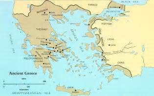 Ancient Greece Map by Google Images