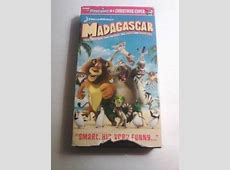 Madagascar 3 Europe's Most Wanted VHS Full Screen ... Madagascar 2005 Vhs