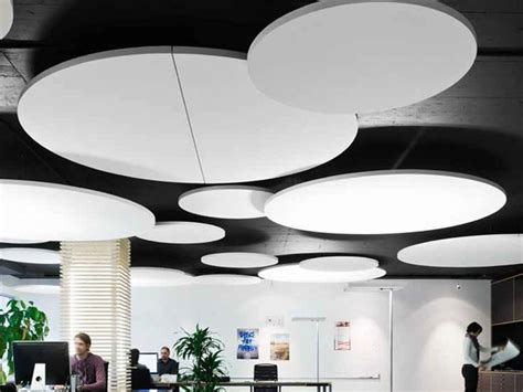 Cloud Ceiling Panels Glass Wool Acoustic Ceiling Clouds Ecophon Circle
