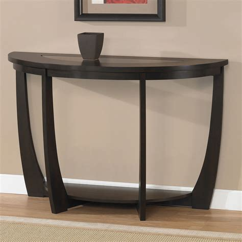 Sofa Accent Table Modern Quot Espresso Sofa Table Quot Furniture Living Room Accent Decor Lounge Home Ebay