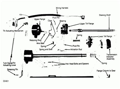 1989 ford f150 ignition switch wiring diagram 1989 ford