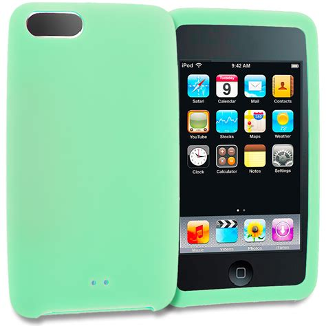 Silicon Ipod Touch 4 Orange Jinga for ipod touch 3rd 2nd generation 3g 2g silicone soft skin