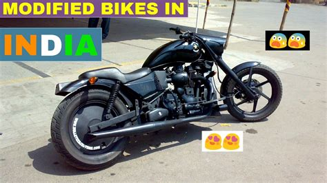Modification Bikes In India by Top 5 Best Modified Bikes In India Part 2