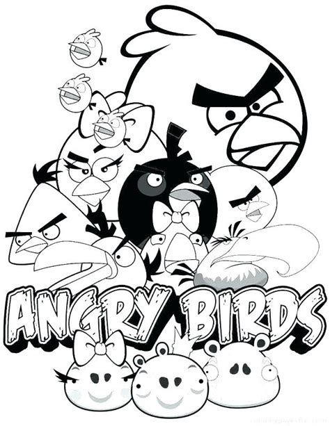 angry birds go coloring pages pdf angry birds go coloring angry birds epic coloring page