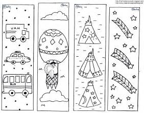 printable bookmarks to color free coloring pages of bookmarks
