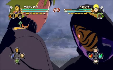 naruto ultimate ninja storm 3 masked man naruto ultimate ninja storm 3 masked man complete moveset