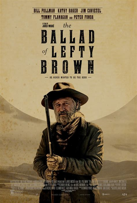 the ballad of lefty brown trailer for a24 s the ballad of lefty brown