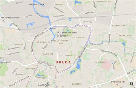 breda netherlands on map breda fortified city in netherlands world easy guides