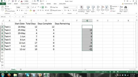 tutorial excel 2013 charts how to make a gantt chart microsoft excel 2013 tutorial 1