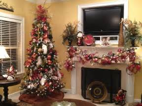 Ribbons on decor with christmas tree decorating ideas with mesh ribbon