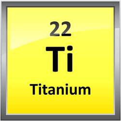 Titanium On Periodic Table by 022 Titanium Science Notes And Projects