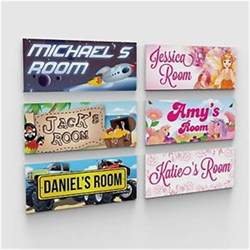 Bedroom Door Signs Ebay Personalised Bedroom Childs Childrens Door Plaques