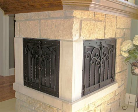 wrought iron fireplace doors the best wrought iron fireplace screens home ideas collection to install wrought iron