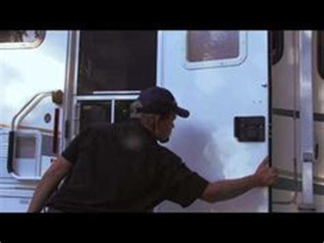 Adding Rv Style Door Latch To Enclosed Trailer - rv mods to do on class a motorhomes screens