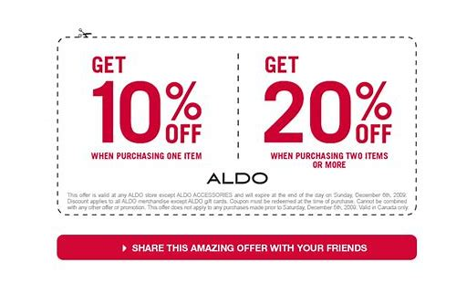 aldo shoes coupon code 15 off