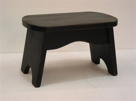 Black Step Stool Wood by Black Step Stool Wooden Stool Bench