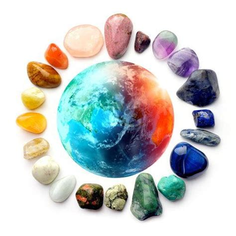 with gemstones planets and gemstones