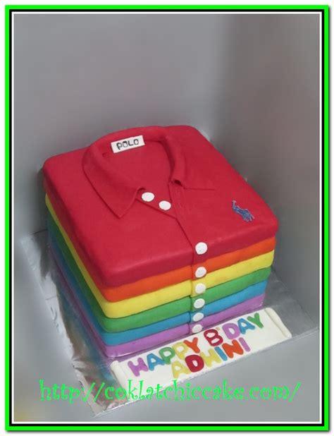 Sugar Kaos Baju Tshirt rainbow cake jual kue ulang tahun